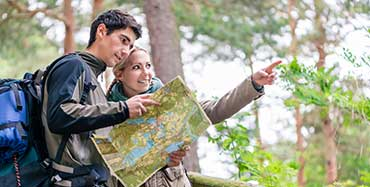 Hiking trips travel partner