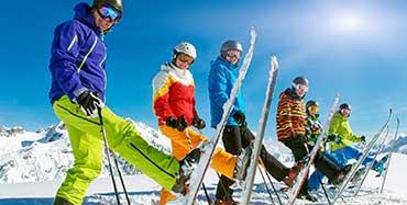 Ski holiday travel partner